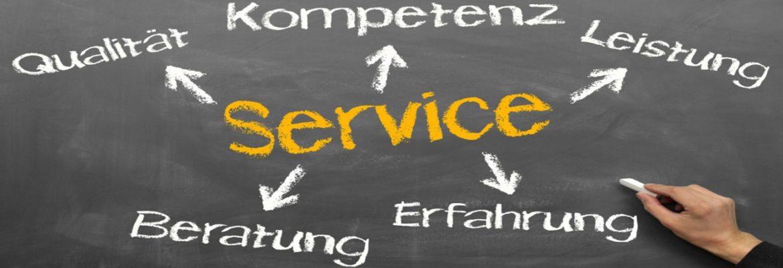 Service und Kompetenz